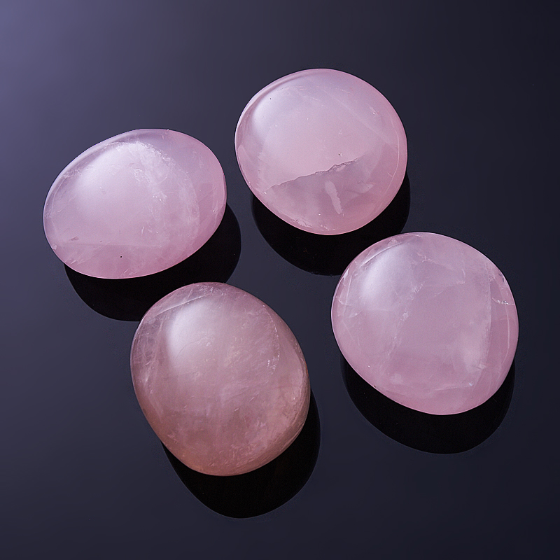 Розовый кварц  (4-5 см) 1 шт кулон трикветр розовый кварц 4 5 см