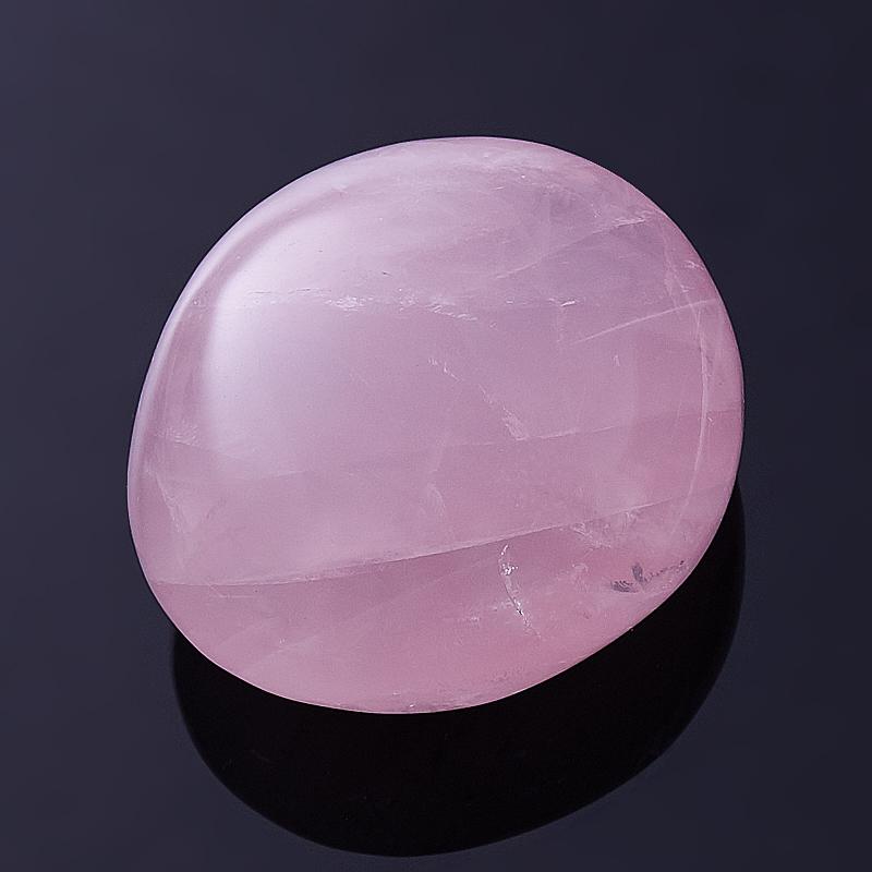 Галтовка розовый кварц Мадагаскар S (4-7 см) (1 шт)