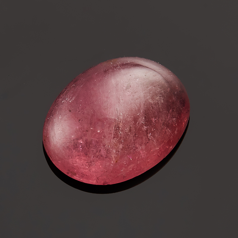Кабошон турмалин розовый  7*9 мм