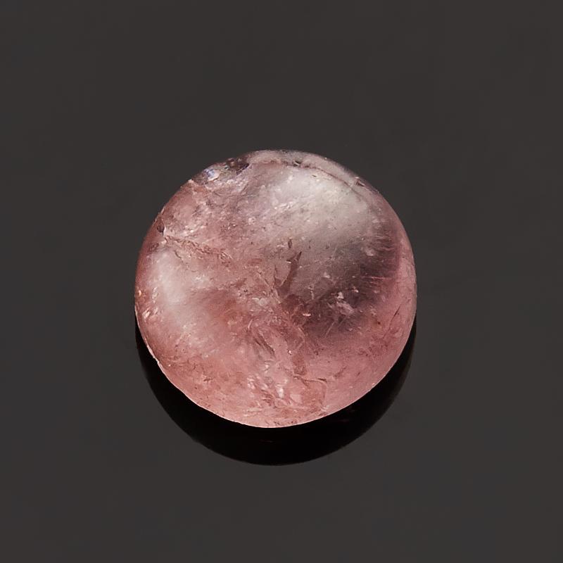 Кабошон турмалин  7 мм кабошон турмалин розовый 19 34 мм