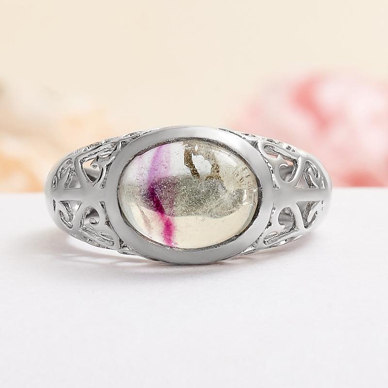 Кольцо флюорит (серебро 925 пр.) размер 16,5