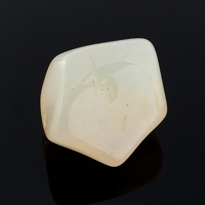 Галтовка агат белый Индия (3-4 см) 1 шт