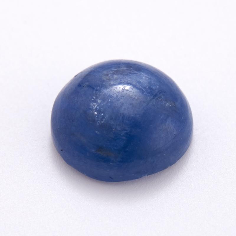 Кабошон кианит синий  8 мм