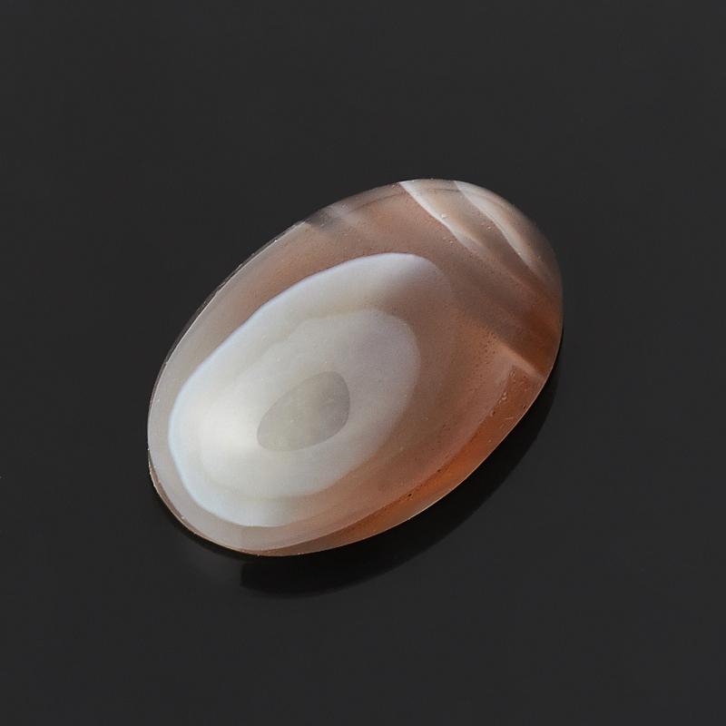 Кабошон агат серый Ботсвана 8*12 мм