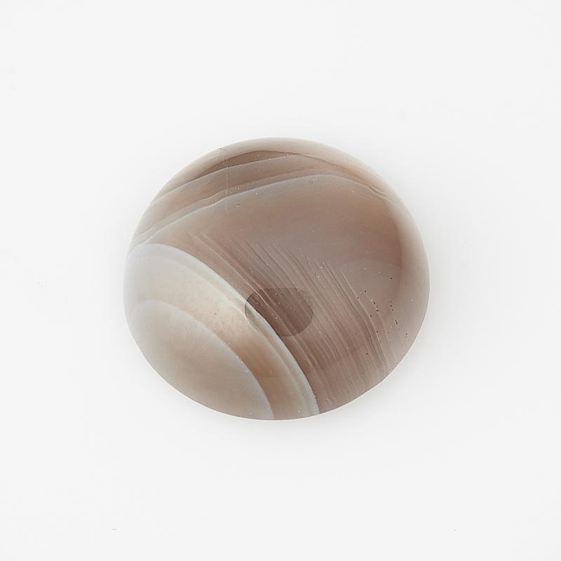 Кабошон агат серый Ботсвана 10 мм