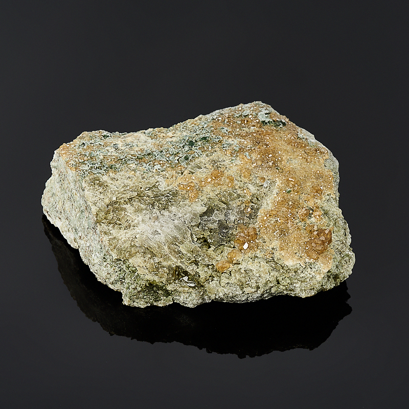 Щетка гранат гроссуляр, везувиан, клинохлор  S
