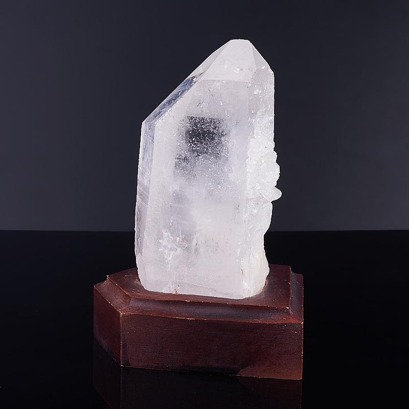 Кристалл горный хрусталь на подставке  M