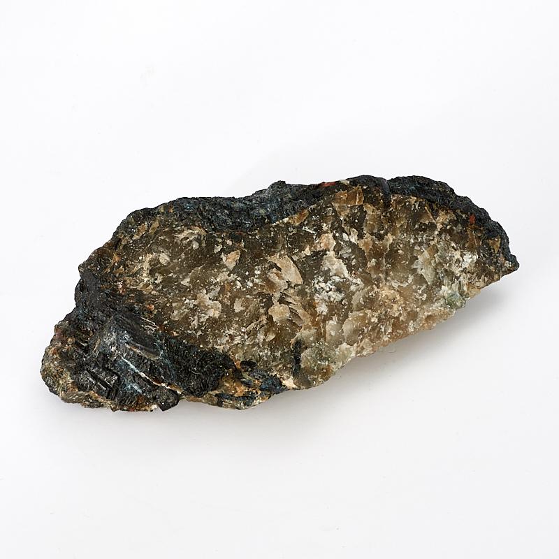 Образец турмалин черный (шерл), асбест M