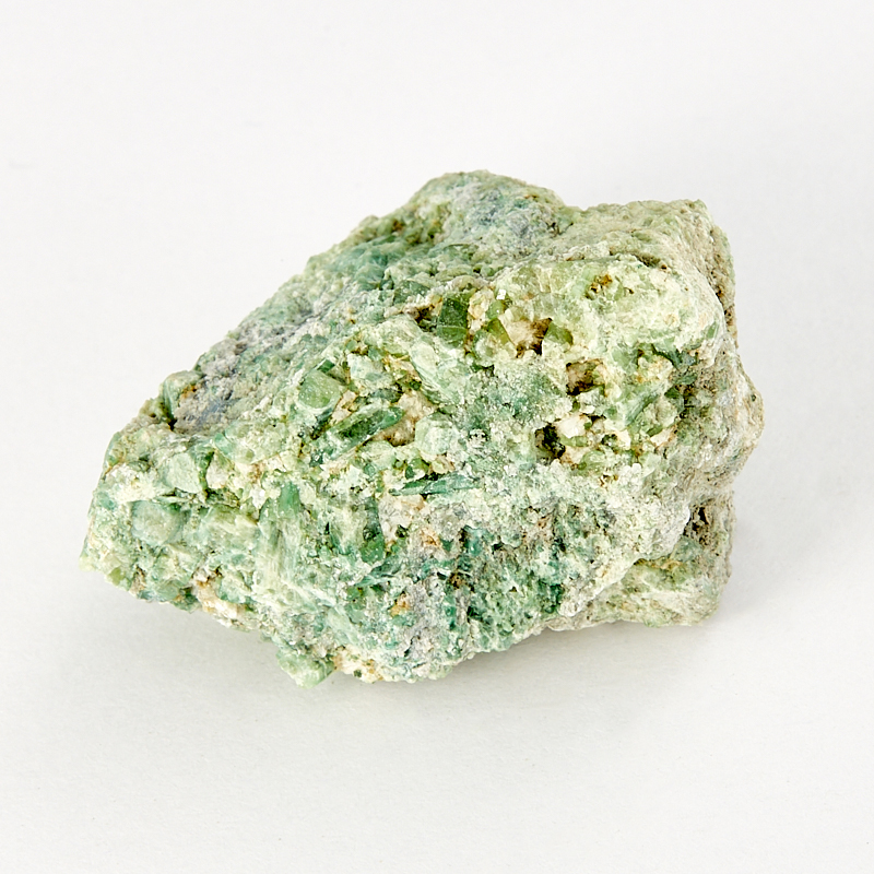 Образец хромвезувиан, асбест  XS от Mineralmarket
