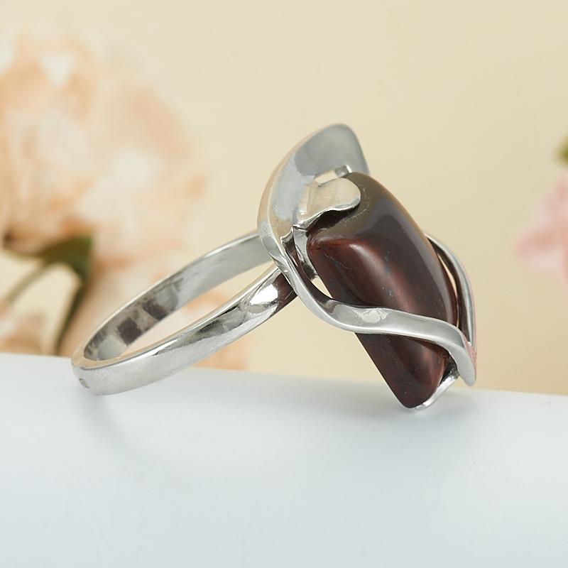 Кольцо бычий глаз ЮАР (серебро 925 пр.) размер 17,5