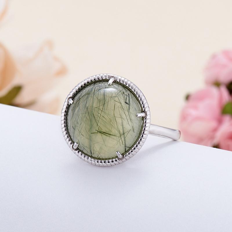 Кольцо пренит  (серебро 925 пр.) размер 20,5