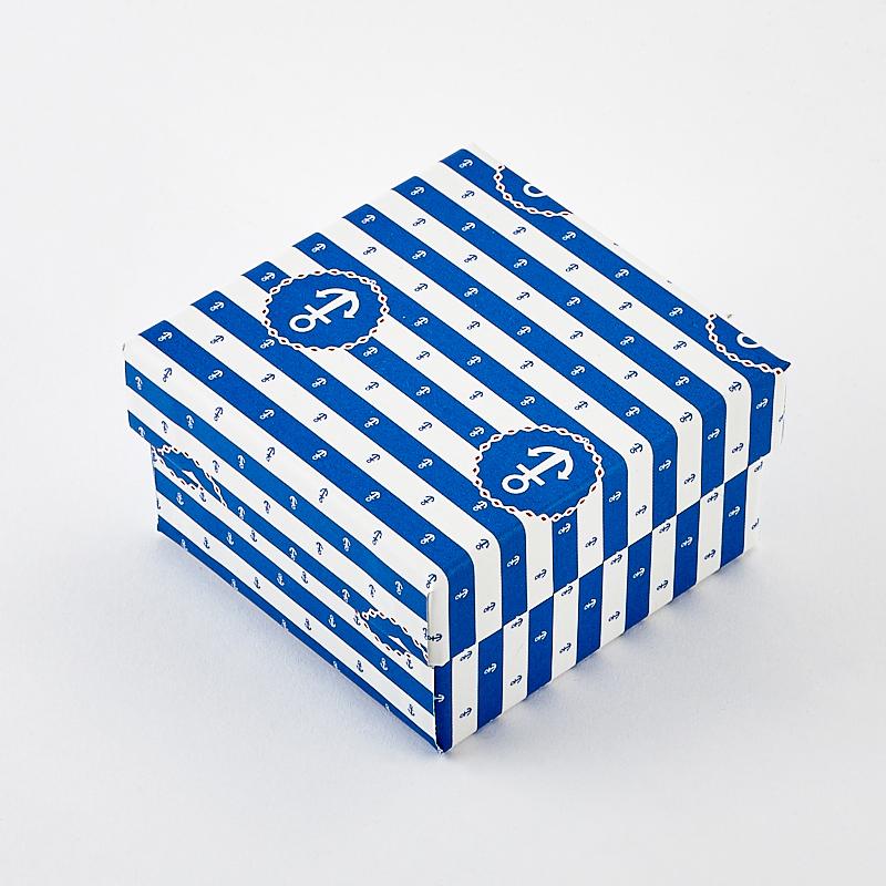 Подарочная упаковка под комплект (серьги, кольцо, кулон) 55х55х30 мм подарочная упаковка под комплект кольцо серьги кулон 80х65х25 мм
