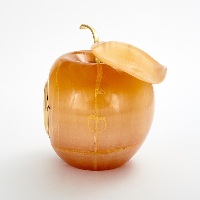 Часы яблоко селенит Россия 8,5 см