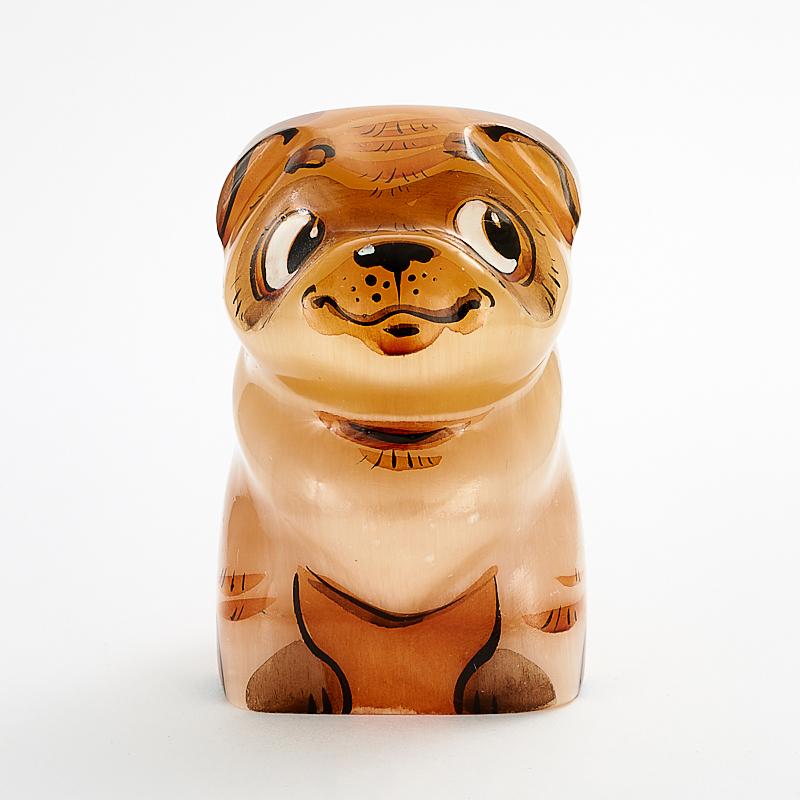 Собака Мопс селенит 6 см цена 2017