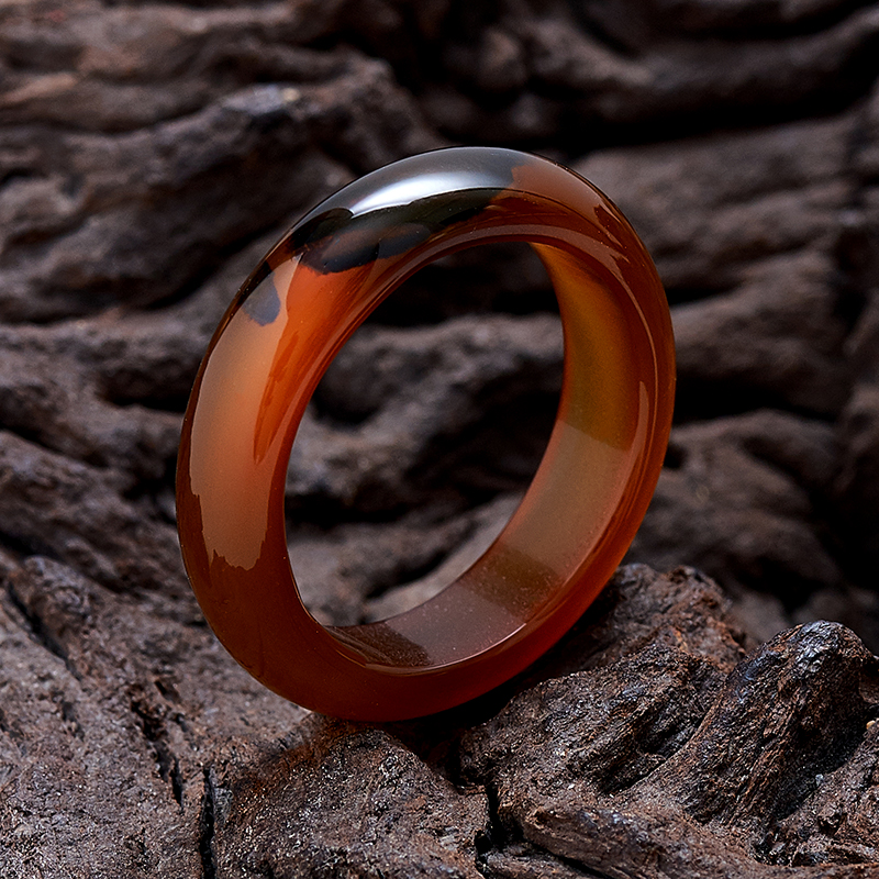 Кольцо сердолик   размер 19