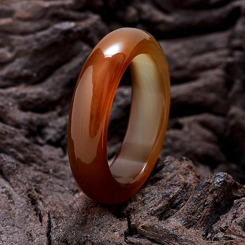 Кольцо сердолик   размер 20