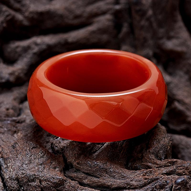 Кольцо сердолик  огранка  размер 19,5