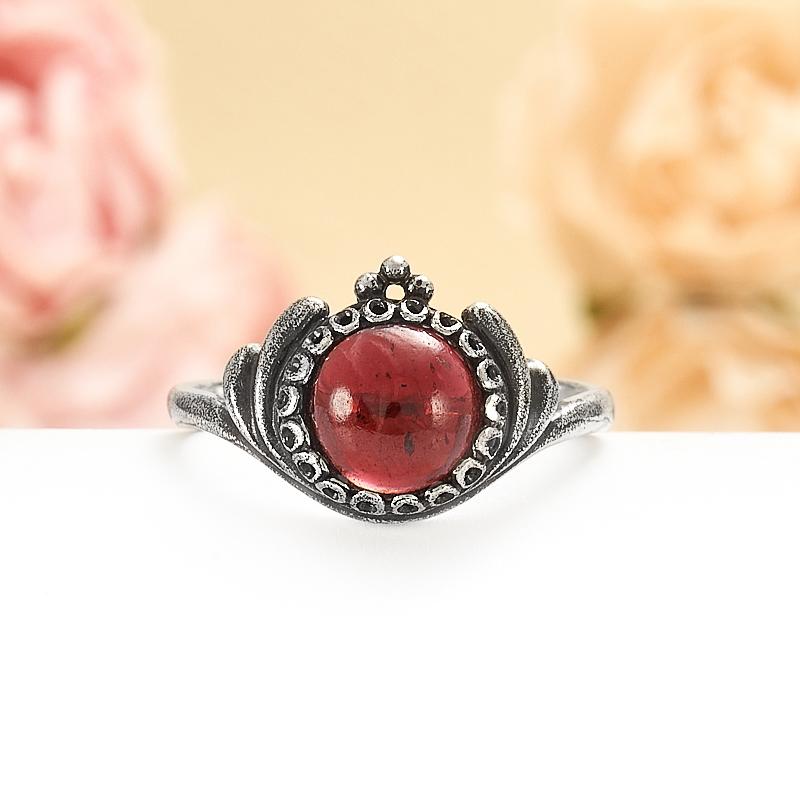 Кольцо гранат альмандин  (серебро 925 пр.) размер 18 кольцо авантюрин зеленый серебро 925 пр размер 18