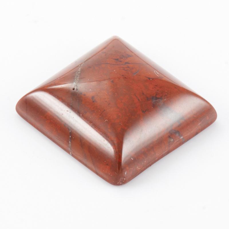 Кабошон яшма брекчиевая  12*12 мм