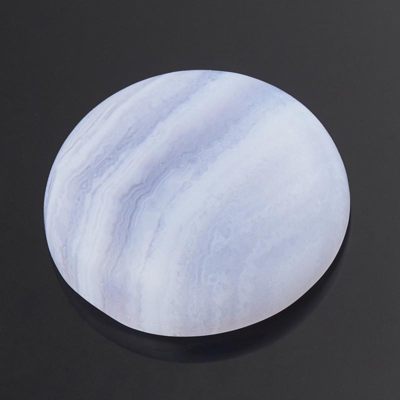 Кабошон агат голубой  18 мм кабошон фосфосидерит 18 мм