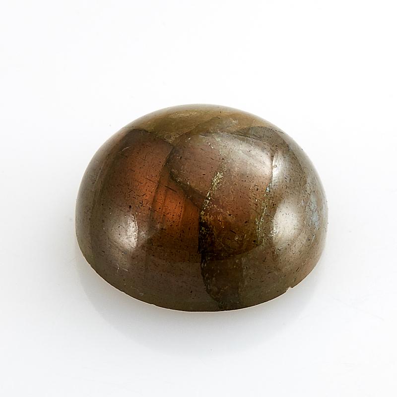 Кабошон лабрадорит  14 мм