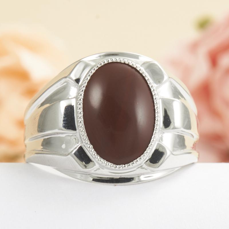 Кольцо яшма брекчиевая  (серебро 925 пр.) размер 21,5