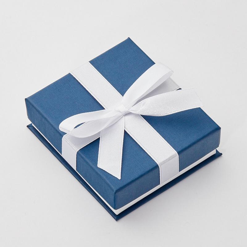 Подарочная упаковка под комплект (серьги, кулон, кольцо,цепь), 80х70х25 мм
