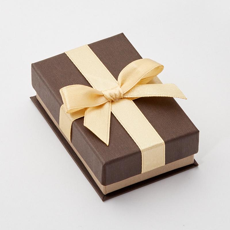 Подарочная упаковка под комплект (серьги, кольцо, цепь) 85х55х25 мм