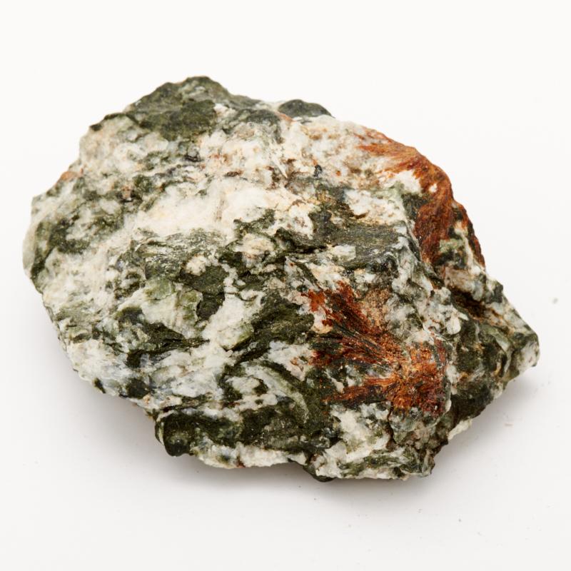 Образец эгирин, нормандит, анальцим  S