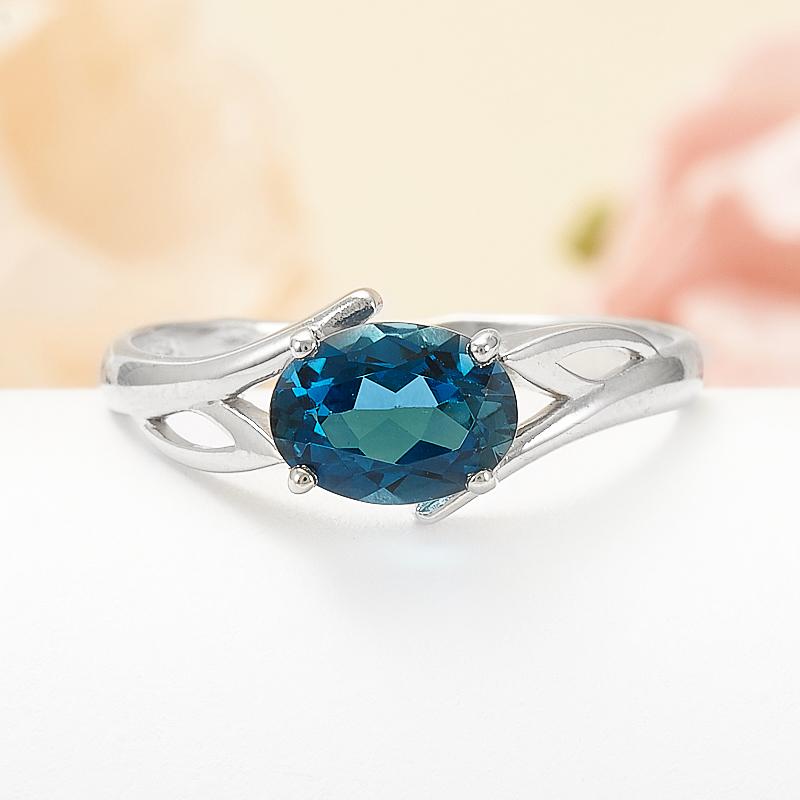 Кольцо топаз лондон огранка (серебро 925 пр.) размер 17 кольцо коюз топаз кольцо т145613438