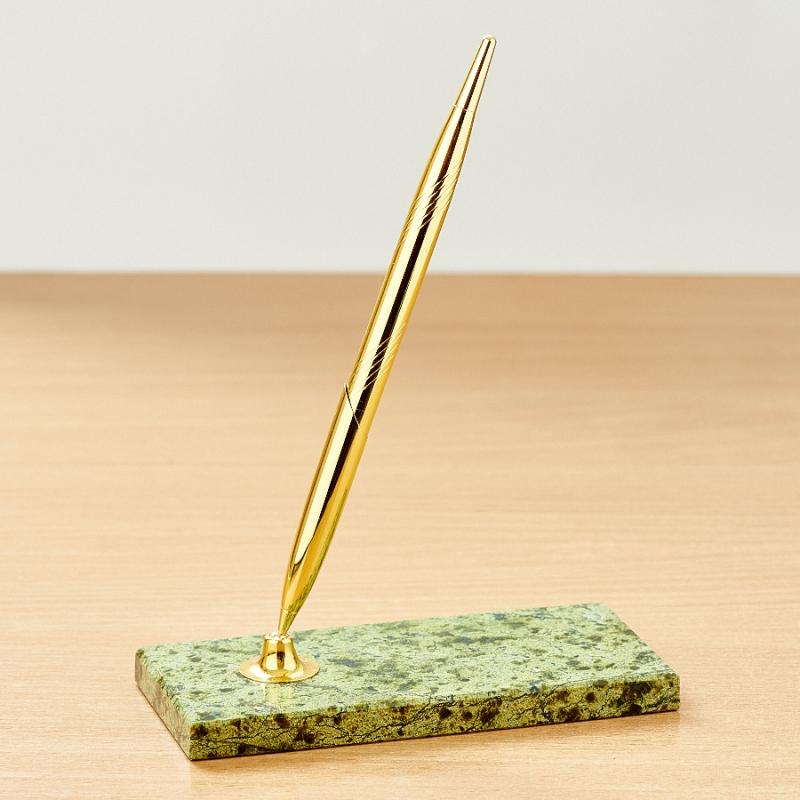 Письменный набор змеевик  6х13,5 см