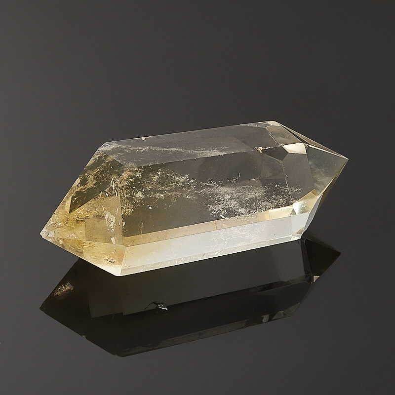 Кристалл цитрин  (двухголовик) S