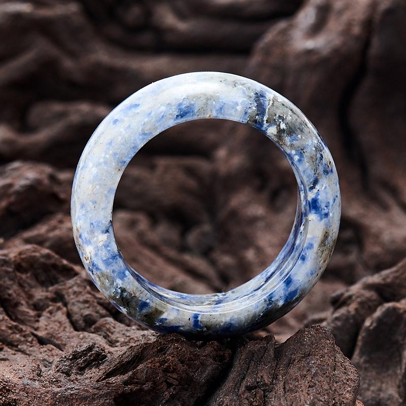 Кольцо содалит Бразилия (цельное) размер 20