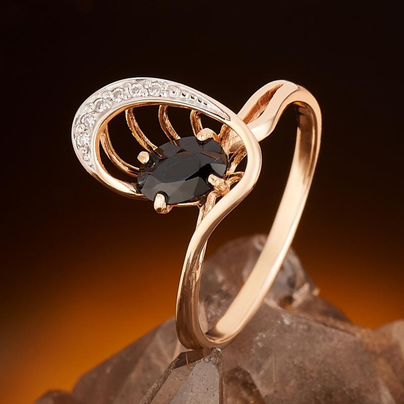 Кольцо сапфир огранка (золото 585 пр.) размер 17,5 кольцо сапфир золото 585 пр размер 18