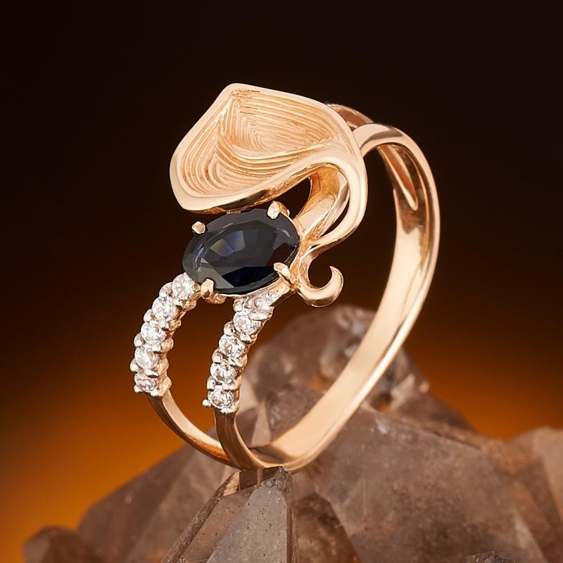 Кольцо сапфир огранка (золото 585 пр.) размер 16,5 кольцо сапфир золото 585 пр размер 18