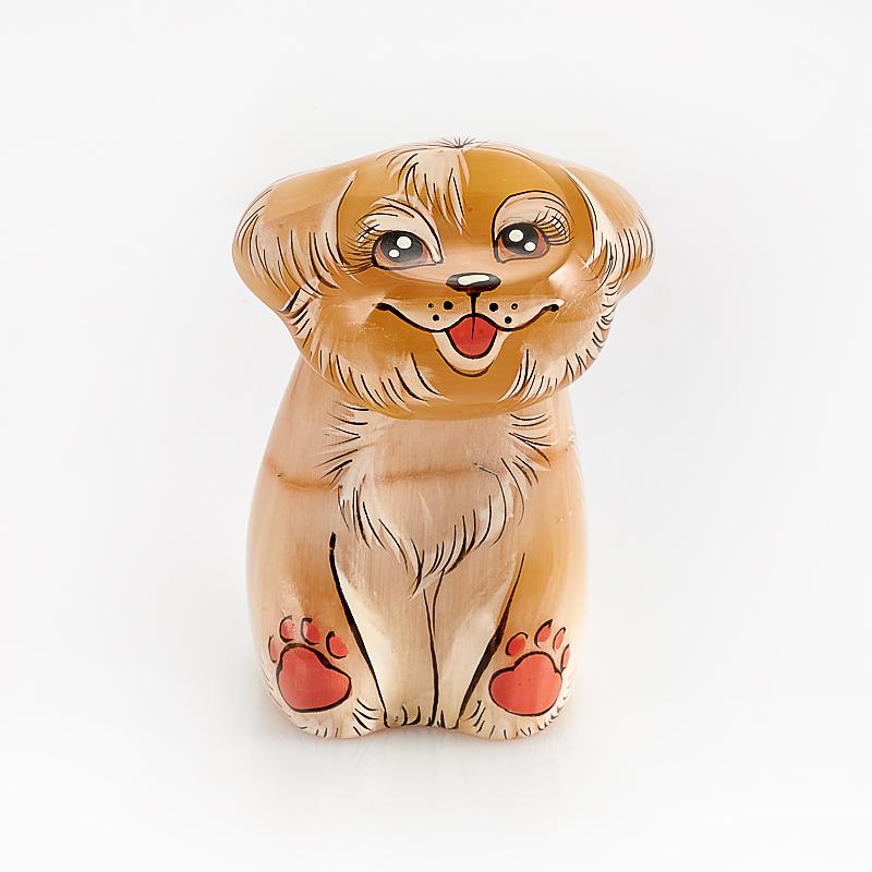 Собака Белка селенит 6,5 см карты игральные bicycle club tattoo цвет черный 54 карты 9109