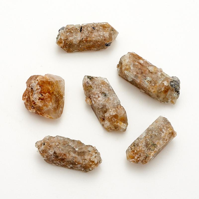 Кристалл топаз серебристый  (2-3 см) 1 шт