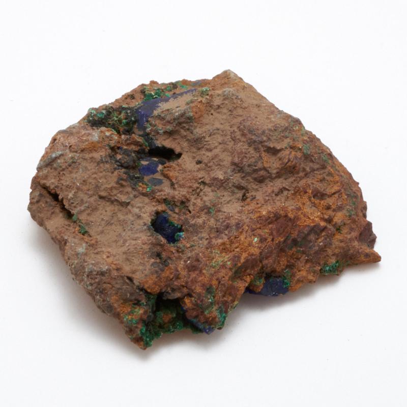 Образец азурит с малахитом  XS