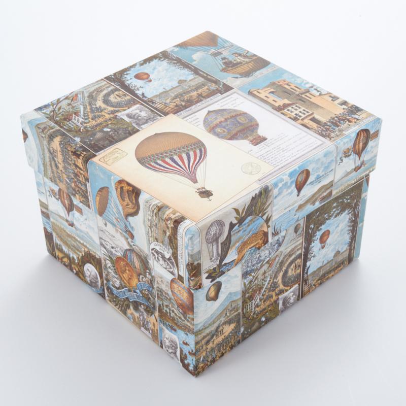Подарочная упаковка универсальная 125х125х90 мм
