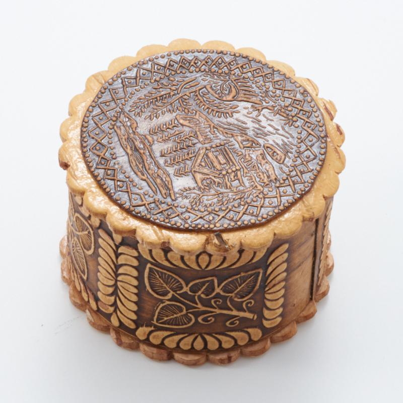 Шкатулка для хранения украшений 4,5х3 см шкатулка для подарков valentine цвет красный белый 25 см