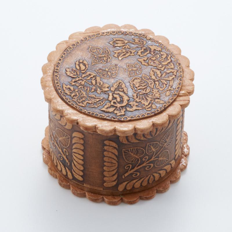 Шкатулка для хранения украшений 5х3 см