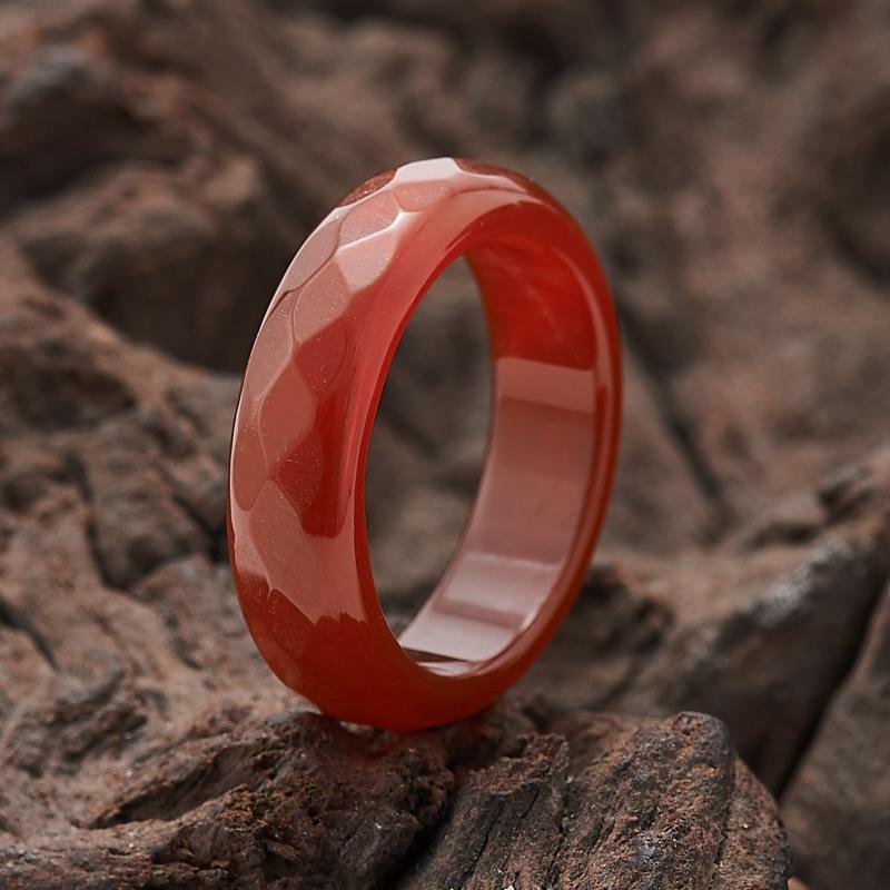 Кольцо сердолик огранка (цельное) размер 17 мумие цельное очищенное купить украина