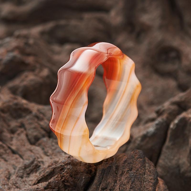 Кольцо сердолик  (цельное) размер 20,5