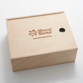 Коробка для коллекции камней (16 ячеек) дерево