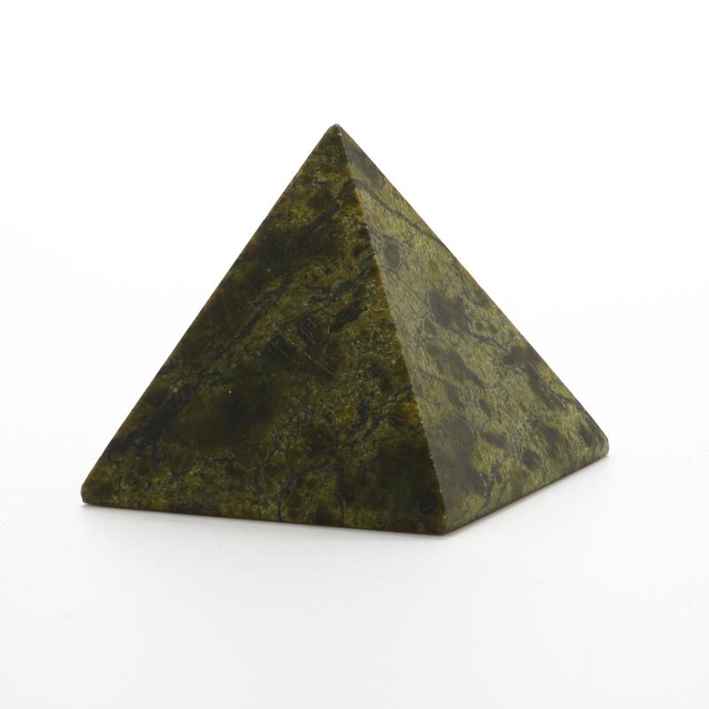 Пирамида змеевик  4 см