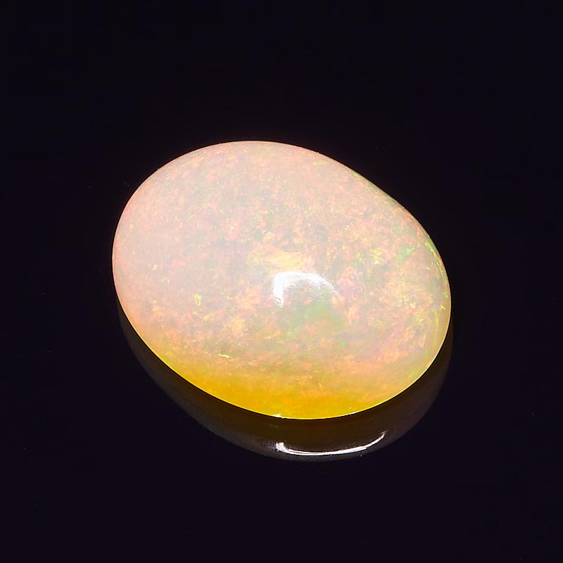 Кабошон опал благородный желтый  12,5*10 мм кабошон опал благородный желтый 26 13 мм
