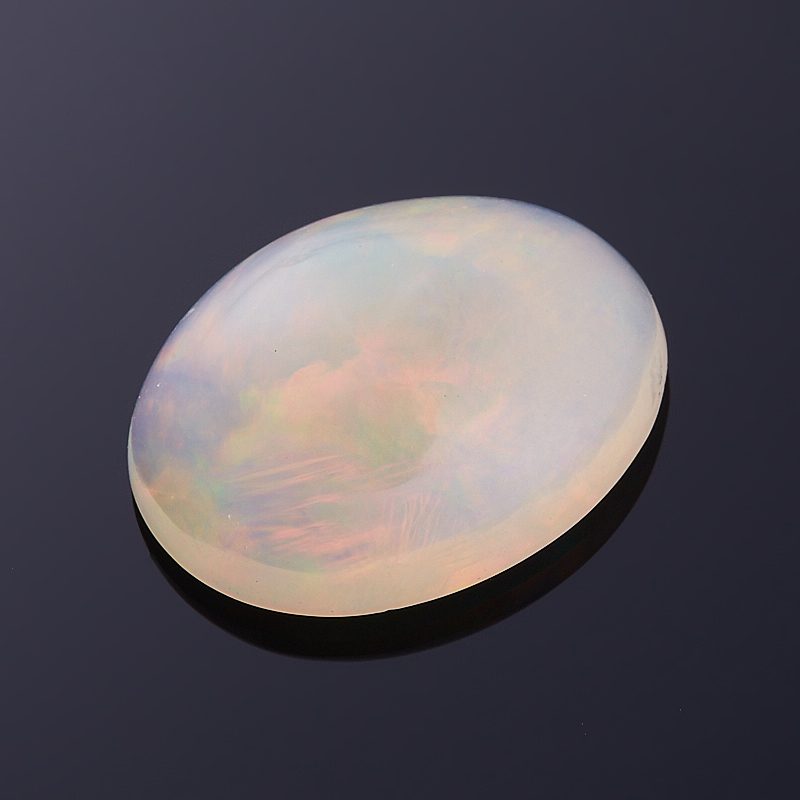 Кабошон опал благородный белый  13,5*17,5 мм