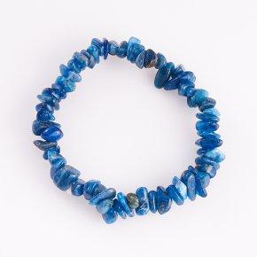 Браслет апатит синий Бразилия 17 cм