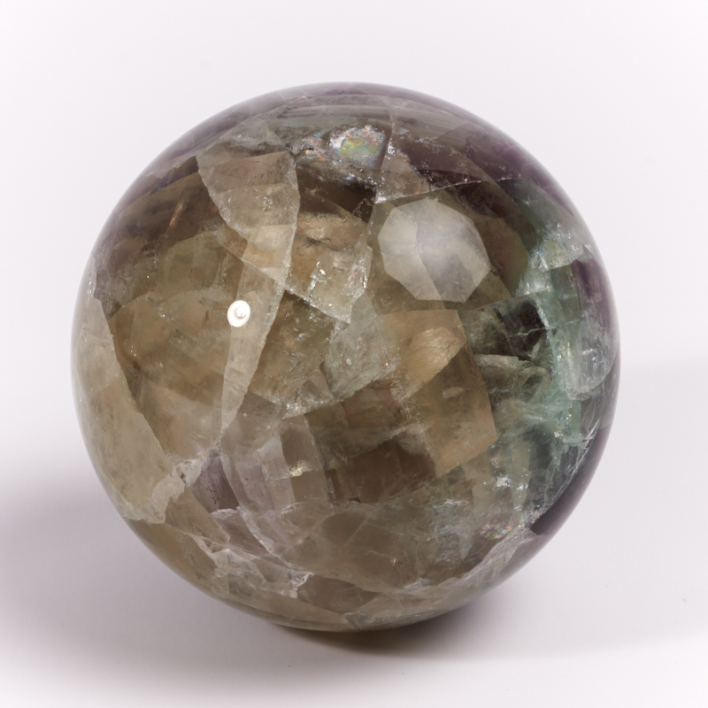 Шар флюорит  5,5 см