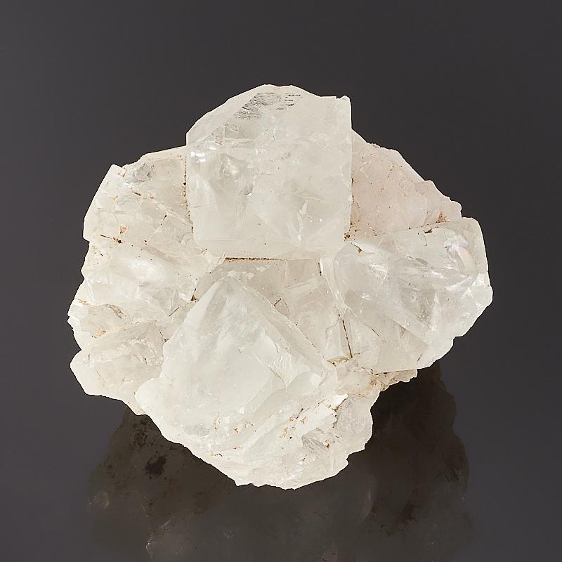 Друза флюорит S флюорит радужный минерал камень в коробочке real minerals collection флюорит радужный
